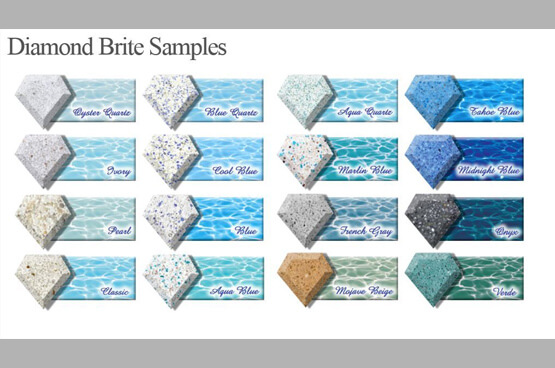 Pool Remodeling Diamond Samples
